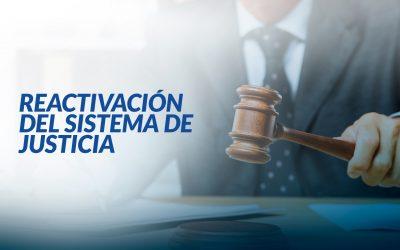 El Consejo de la Judicatura emitió una resolución para la reactivación del sistema de justicia